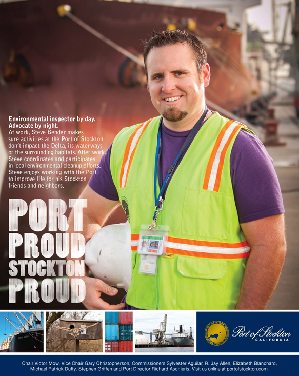 Port Proud Stockton Proud Ad Campaign - Steve Bender
