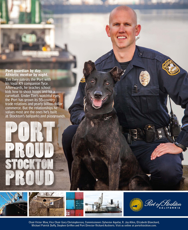 Port Proud Stockton Proud Ad Campaign - Tim Ivey