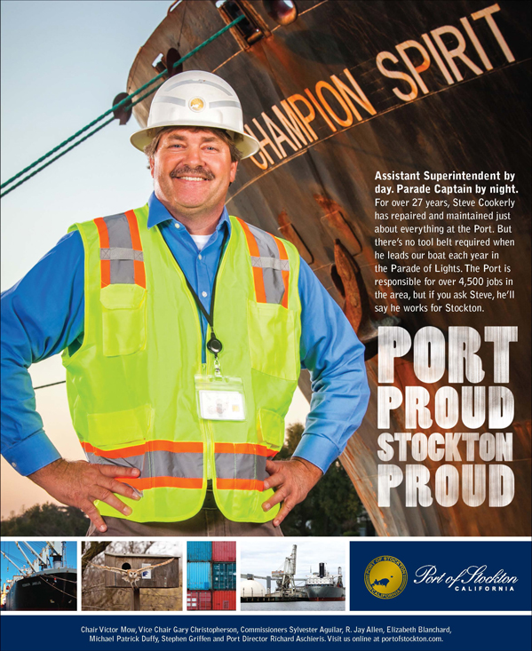 Port Proud Stockton Proud Ad Campaign - Steve Cookerly