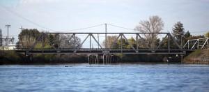 A Bridge Crossing over the River