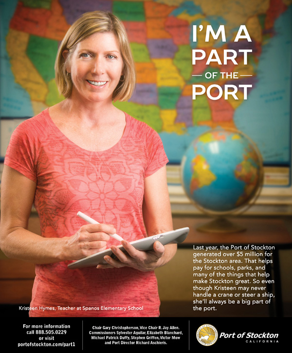 I'm a Part of the Port Ad Campaign - Teacher