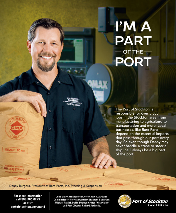 I'm Part of the Port Ad Campaign - Manufacturer