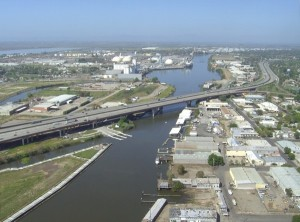 Port of Stockton Aerial View