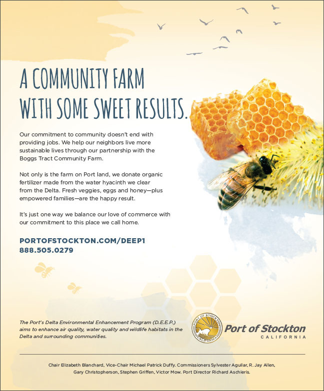 Delta Environmental Enhancement Program partnership with Boggs Tract Community Farms