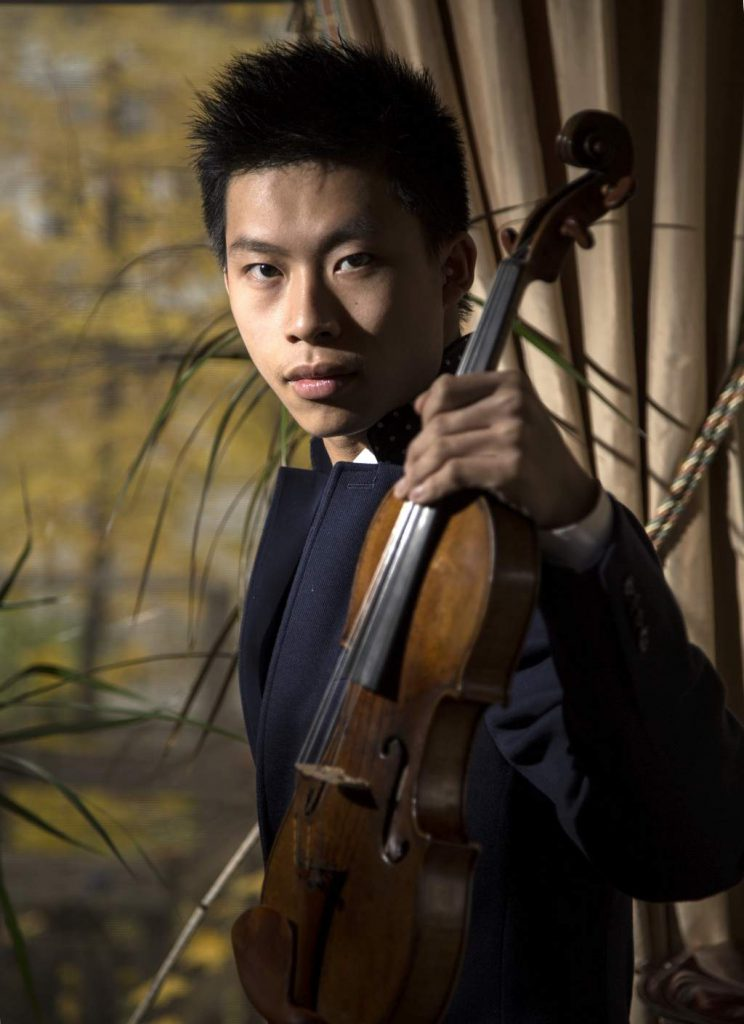 Stockton Symphony to Feature Gifted Young Violinist