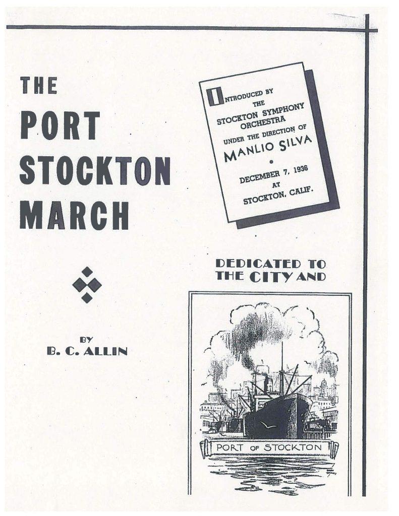 Port Stockton March BC Allin